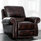 Edmore Leather power assist recliner