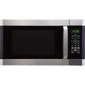 Simply Perfect 1.6cf Microwave Oven w/Inverter function Stainless steel