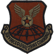 Air Force Patch Global Strike Command Velcro (OCP)