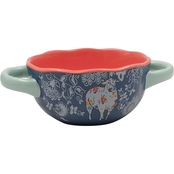 Gibson Home Life on the Farm 6 in. Bowl with Handles