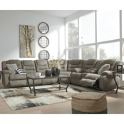 Signature Design by Ashley Segburg 3 pc. Reclining Sectional