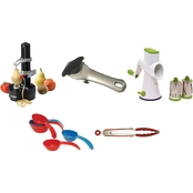 Starfrit Drum Grater, Rotato Express, Auto Can Opener, Measuring Cups and Tongs