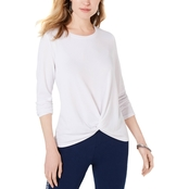 Style & Co. Twist-Front Top