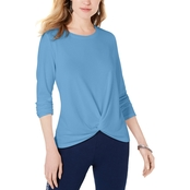 Style & Co. Twist Front Top