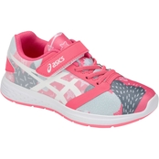 ASICS Little Girls Patriot 10 PS Running Shoes