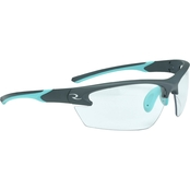Radians Women's Shooting Glasses Aqua/Clear