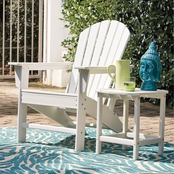 Signature Design by Ashley Sundown Treasure Adirondack Chair and End Table Set