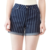 JW Striped Jean Shorts
