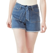 JW Jean Shorts with Tie Waist