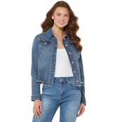 JW Stepped Hem Trucker Jacket
