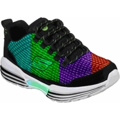 Skechers Boys Luminators Lighted Lace Up Sneakers