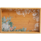 Life on the Farm Bamboo Serving Tray