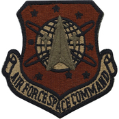 Air Force Patch Space Command Velcro (OCP)