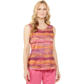 Passports Textured Stripe Tank