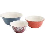 Gibson Home Life on the Farm Ceramic Bowls 3 pc. Set