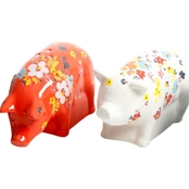 Gibson Home Life on the Farm Pig Shape Salt and Pepper Shaker