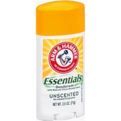 Arm & Hammer Essentials Natural Unscented Deodorant 2.5 oz.