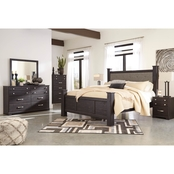 Signature Design by Ashley Reylow Poster Bed 5 pc. Set