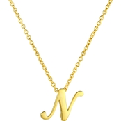 Roberto Coin 18K Yellow Gold Script Letter N Pendant