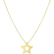 Roberto Coin 18K Yellow Gold Star Pendant