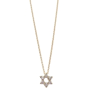 Roberto Coin 18K Yellow Gold 1/10 CTW Diamond Star of David Pendant