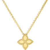 Roberto Coin 18K Gold Small Princess Flower Pendant