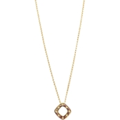 Roberto Coin 18K Yellow Gold Slanted Square Pois Moi Pendant