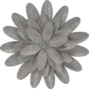 Simply Perfect Layered Metal Flower Wall Decor