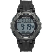 Armitron Sport Men's 40/8429BLK Digital Chronograph Black Resin Strap Watch