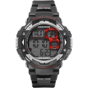 Armitron Sport Men's 40/8309RED Digital Chronograph Black Resin Strap Watch
