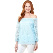 Passports Convertible Off The Shoulder Top