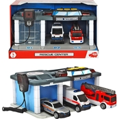 Dickie Toys US Rescue Center Model Set