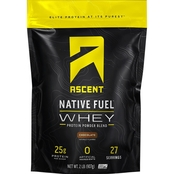 Ascent Native Fuel Whey Protein Powder 2 lb.