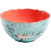Gibson Home Life on the Farm 6 in. Dinner Bowl