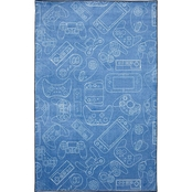 Mohawk Home In Control Denim Rug