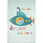 Mohawk Home Submarine Dream Area Rug