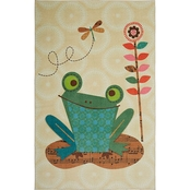 Mohawk Home Patch Frog Area Rug