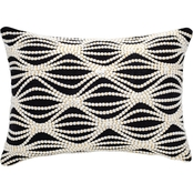 Enchante Raised Dot Ogee Texture 20 x 20 in. Pillow