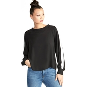 RACHEL ROY JAN NOVA SNAP BLOUSE
