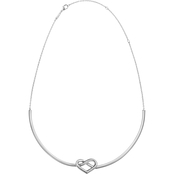 Calvin Klein Stainless Steel Charming Choker Necklace
