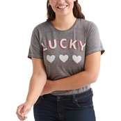 Lucky Brand Plus Size Heart Tee