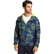 Nautica Camo and Anchor Hooded Jacket
