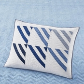 Martha Stewart Collection Triangle Patch Standard Sham