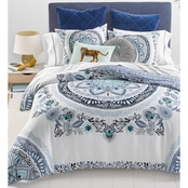 Martha Stewart Collection Whim Traveler Medallion Comforter Set