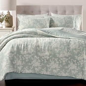 Martha Stewart Collection Floral Silhouette 8 pc. Comforter Set