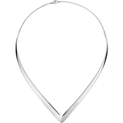Calvin Klein Outline Choker Necklace