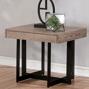 Furniture of America Sawyer End Table