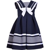 Bonnie Jean Toddler Girls Traditional Nautical Dress