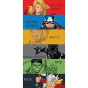 Jay Franco and Sons Avengers Team Beach Towel