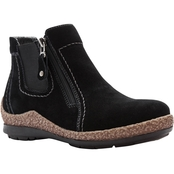 Propet Doretta Ankle Boots with Side Zip and Double Gore